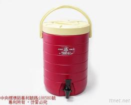 (17L-Red) Линия изолированный распределитель PE тонкая напитка