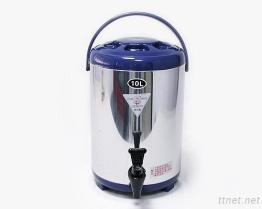 (10L-Blue) Stainless-Steel изолированный распределитель напитка