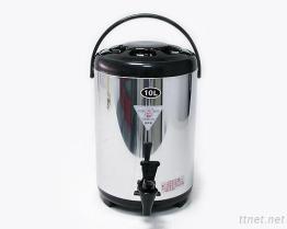 (10L-Black) Stainless-Steel изолированный распределитель напитка