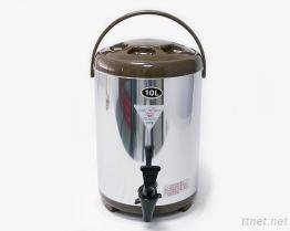 (10L-Brown) Stainless-Steel изолированный распределитель напитка