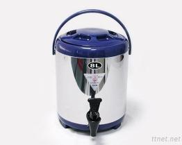 (8L-Blue) Stainless-Steel изолированный распределитель напитка