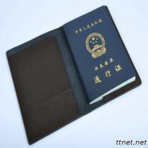 De de universele Houder van Passort van het Leer van de Koe/Dekking van het Leer van het Paspoort