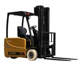 1400Kg-1800Kg de nieuwe het 3-wiel van het Type van Ontwerp Elektrische Vorkheftruck van de Batterij
