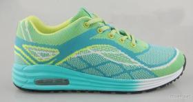 Schoenen van de Sport van de Mensen & van de Dames van Flyknit van de manier breiden de Hogere, Comfort die Mensen & de Enige Loopschoenen van het Kussen van de Lucht van Dames dragen, Hogere