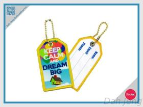 Dream Big - Embroidery+Sublimation Tag, Luggage Tag
