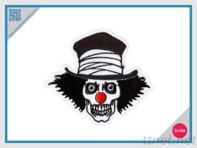 De geborduurde Clown van het Flard