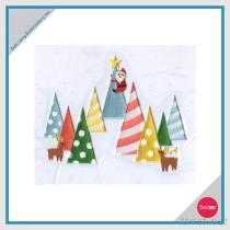 Ijzer-op Geplaatste de Sticker van het Borduurwerk - Vrolijke Kerstmis