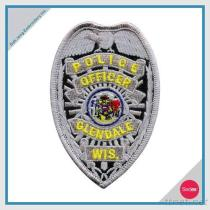 شرفة تطريز رقعة - ضابط شرطة [غلندل] [ويس].