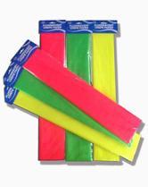 蛍光性のクレープ紙、包装紙