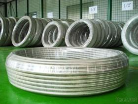 01 - Tubo flessibile tessuto legare dell'acciaio inossidabile di PTFE