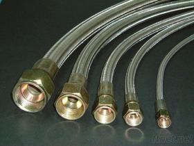 Tubo flessibile tessuto legare dell'acciaio inossidabile di PTFE