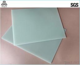 水の緑のエポキシ樹脂ガラス繊維の絶縁材のパネル