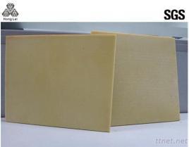 黄色く高い係数のエポキシ樹脂絶縁材のガラス繊維のパネル