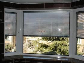 Insulated Glass with Electric Blinds
