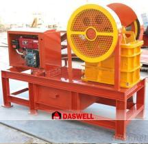 Am meisten benutzte mini Dieselmotor-bewegliche Steinzerkleinerungsmaschine