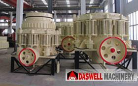 Hochgeschwindigkeitskegel-Zerkleinerungsmaschine-Maschine für Stein