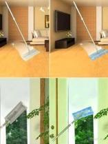 De multifunctionele Vloer en Zwabber van Vensters