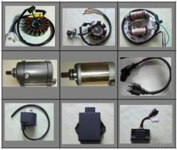 De Elektrische Delen van de motorfiets