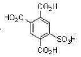 5-sulfo-1, 2, 4-Benzenetricarboxylicacid.CAS: 51307-74-5