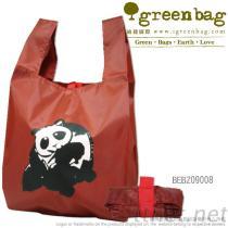 Nylon het Winkelen van de Panda Zak
