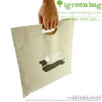 Organische het Winkelen zak-Jute