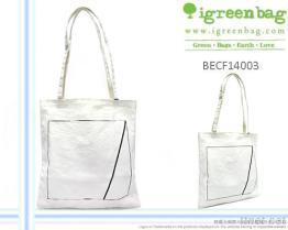 Het handtas-Wit van het canvas