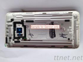 Rimontaggio per la copertura di batteria della parte posteriore dell'argento dell'alloggiamento della parte posteriore del cellulare, vetro della macchina fotografica