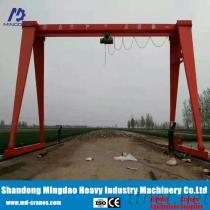 Radio Remote Controlled Single Girder Gantry Crane