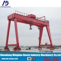 Remote Controlled Rail Mounted Gantry Crane 20 Ton 30 Ton 40 Ton