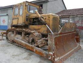 De gebruikte KAT van de Bulldozer D6D