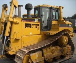 De gebruikte KAT van de Bulldozer D8R