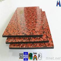 Alucobondの大理石または花こう岩の外部の仕上げアルミニウムシート