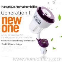Umidificatore dell'aroma dell'automobile, diffusore dell'aroma dell'automobile con gli orificii del USB
