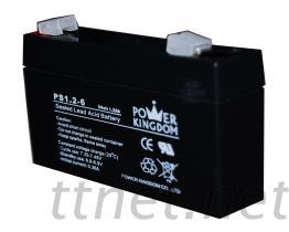 Säure-Batterie des Blei-6V1.2AH