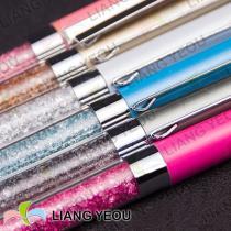 Metallic Diamond Rollerball Pen Creative Multicolor Advertising Crystal Pen can be customized LOGO