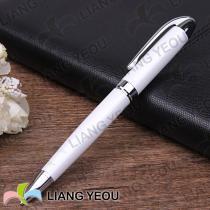 Metallic Plating Promotion Ballpoint Pen Creative Multicolor Advertising Pen can be customized LOGO