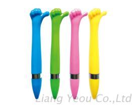Good Creative Finger Hand Ball Point Pen can be customized LOGO