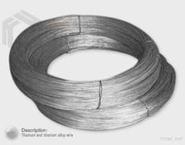 チタニウムおよびチタニウムの合金ワイヤー