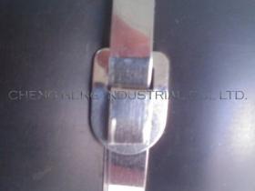 Fascetta ferma-cavo dell'acciaio inossidabile