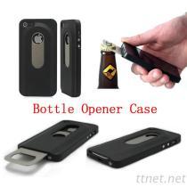 Het Geval van de Flesopener voor IPhone 5 de Zwarte Harde Flesopener van de Dia van het Geval van Shell uit