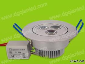 3W LED Down Light / Ceiling Light