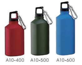 Aluminum Triangle Sport Bottle 400ml, 500ml, 600ml