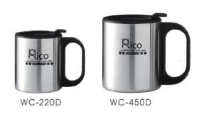 Double Wall Stainless Steel Cup 220Ml, 450Ml