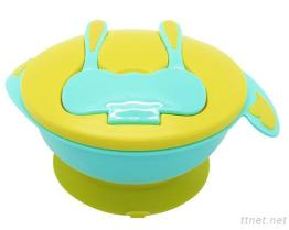 Baby Food Bowl with Spoon Fork 650ml