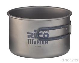 Pote que acampa Titanium 800ml