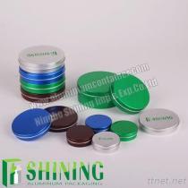 アルミニウム化粧品の瓶