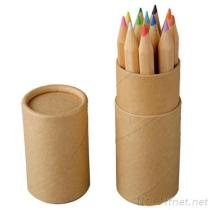 Colored Pencil Tube With Sharpener, Pencil, Colored Pencil, Cartoon Pen, Child Pen, Advertising Pen, Gift Pen, Pen Set,