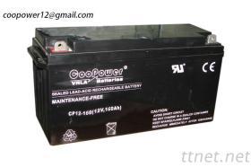 VRLA Lead-Acid Batterie 12V-160Ah