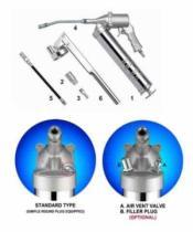6pcs de Uitrusting van de Combinatie van het Kanon van het Vet van de lucht