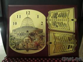 Gold Foil Clock Dial